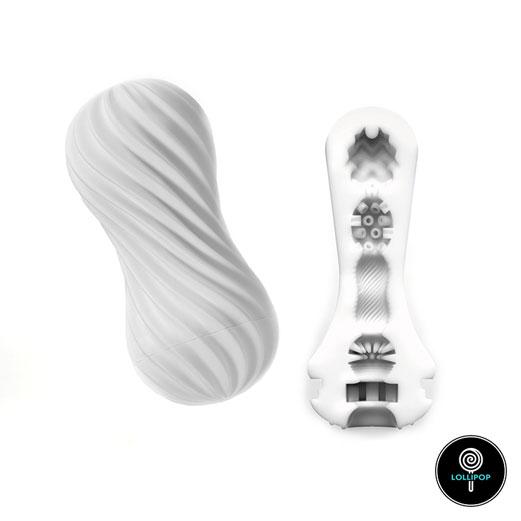 фото мужской мастурбатор-Tenga-FLEX-Silky-White