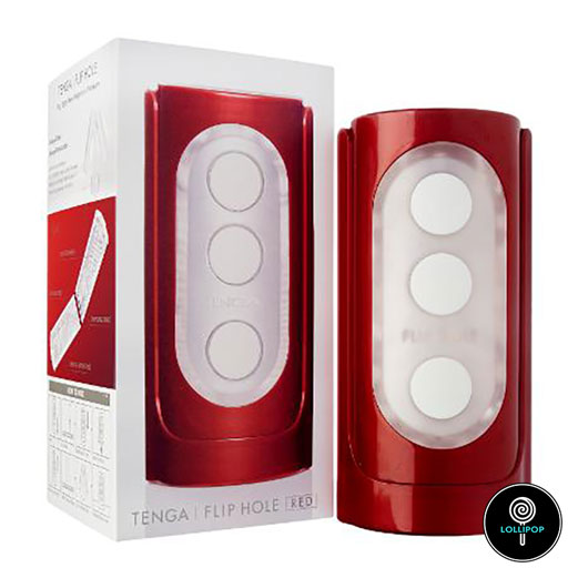 Мастурбатор-Tenga-Flip-Hole-Red-1