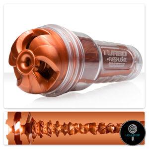 фото оральный мастурбатор для мужчин Fleshlight Turbo Thrust Copper