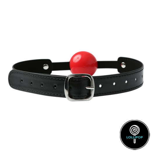 Кляп с шариком Sportsheets Solid Red Ball Gag