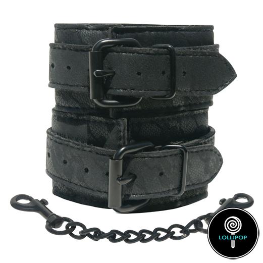 фото наручники секс шоп Sportsheets Midnight Lace Cuffs
