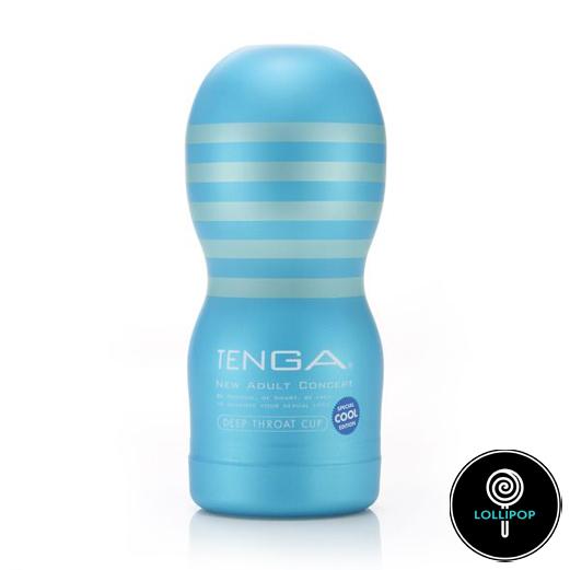 фото сосущий мастурбатор Tenga Deep Throat Cup Cool Edition