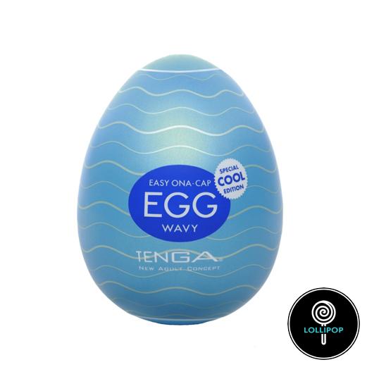 фото охлаждающий мастурбатор Tenga Egg Cool Edition