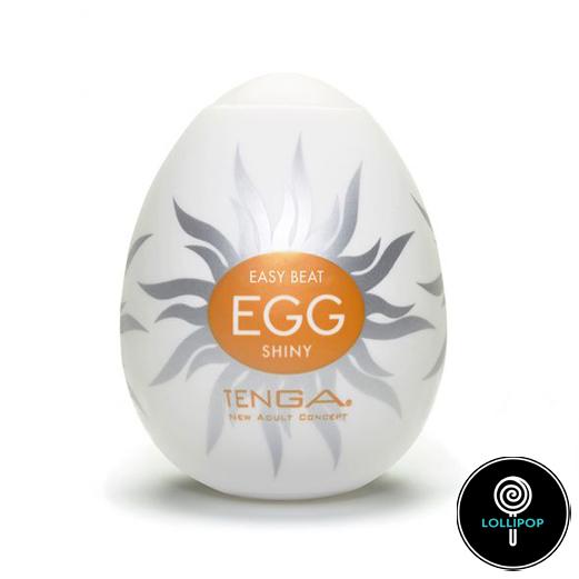 фото карманный мастурбатор Tenga Egg Shiny