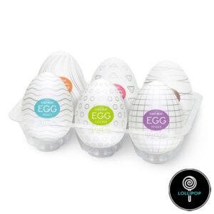 Набор яиц-мастурбаторов Tenga Egg Variety Pack