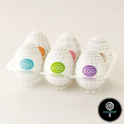 Набор мастурбаторов Tenga Egg Variety Pack