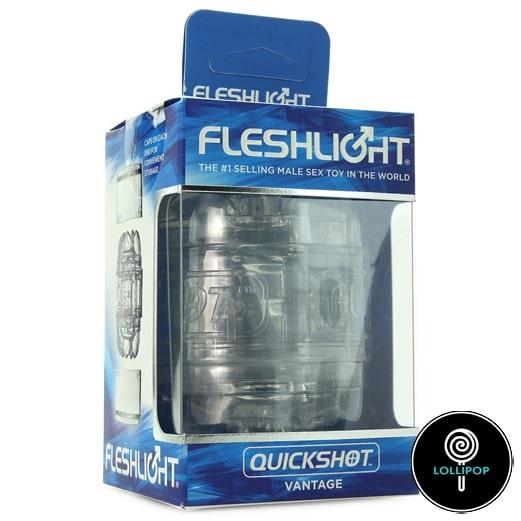 Открытый мастурбатор Fleshlight Quickshot Vantage упаковка фото