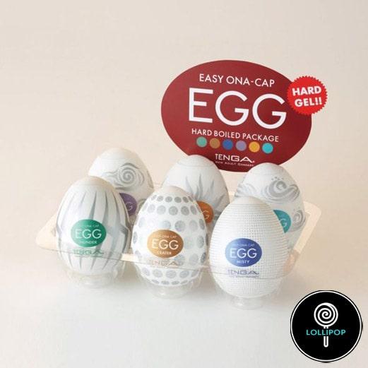 Набор мастурбаторов Tenga Egg Hard Boil Pack фото