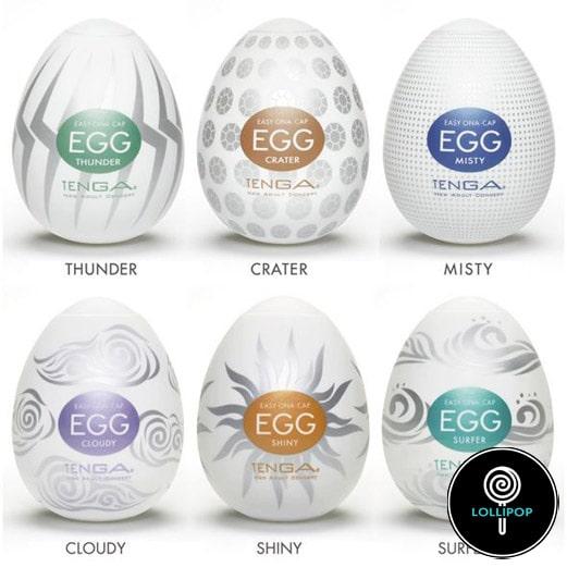 Набор мастурбаторов Tenga Egg Hard Boil Pack вариации