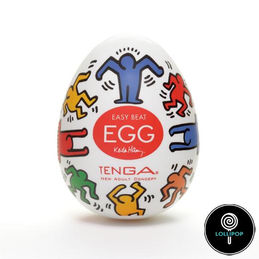 Яйцо мастурбатор Tenga Egg Keith Haring Egg dance