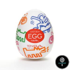 яйцо мастурбатор Tenga Egg Haring lovers street