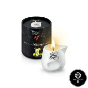 Массажная свеча Plaisirs Secrets Mojito