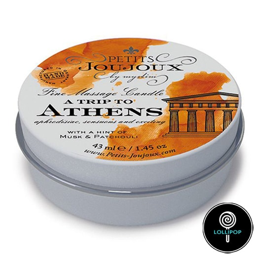 Массажная свечa Petits Joujoux - Athens